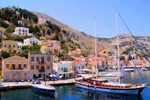 South Dodecanese Islands In Greece